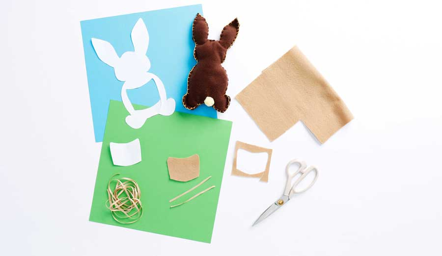 Step 6 making tiny backpack for bunny