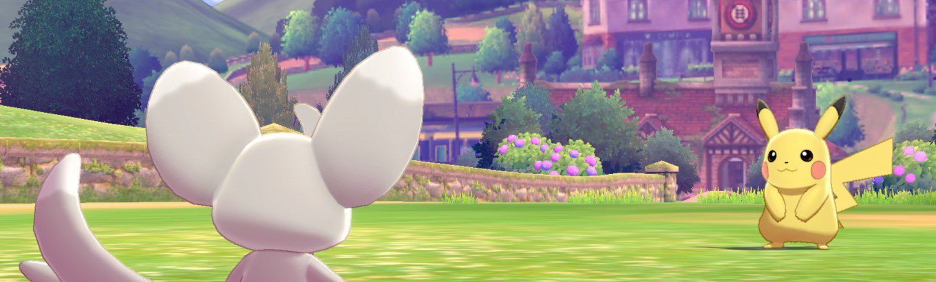 Pokemon Sword & Pokemon Shield. Become a Pokémon Trainer and embark on a new journey in the new Galar region.