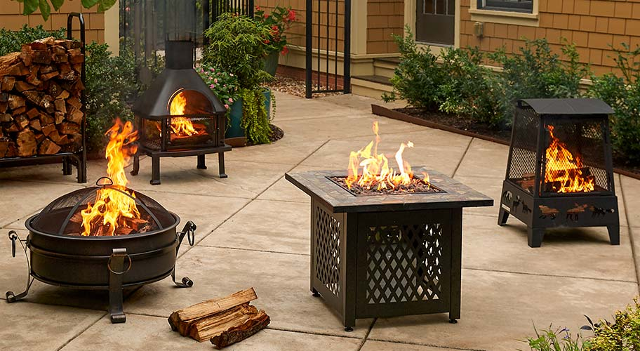 Warm up outside. Your patio can be cozy & comfy even when it's cold outside. Shop our selection of budget-friendly heaters & fire pits—they're the perfect way to keep your outdoor zone warm & welcoming all season long.