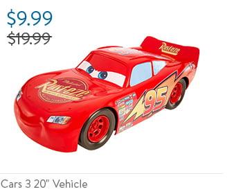 "Cars 3 20"" Vehicle"