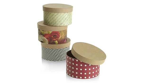 Homemade kraft paper boxes
