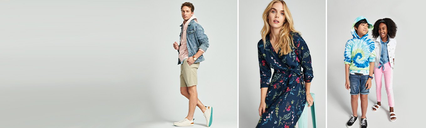 Fresh fashion for all. Get hundreds of new arrivals starting at $15.