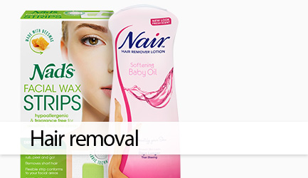 Shop hair removal