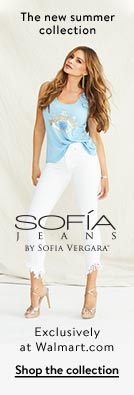 The new summer collection. Sofía Jeans By Sofía Vergara. Exclusively at Walmart.com. Shop the collection.