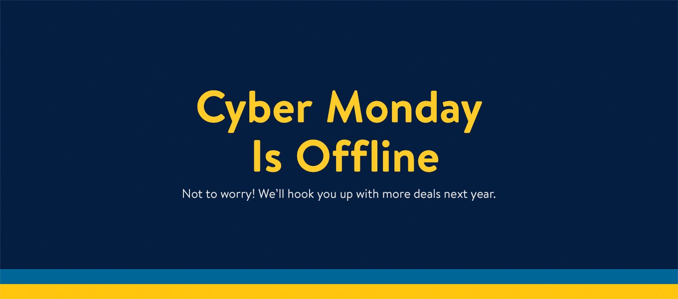 cyber monday is off line well hook you up with more deals - Cyber Monday Mattress Deals