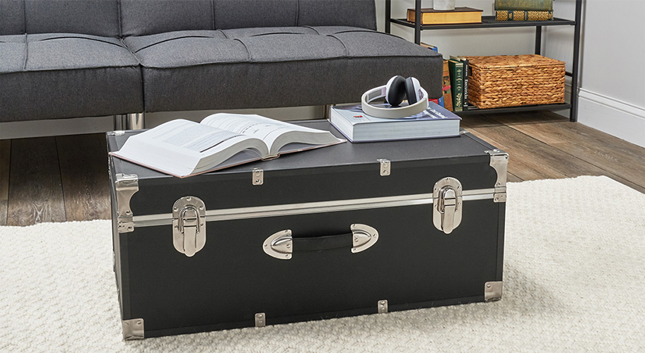 Make room in every room. Seward trunks are the perfect space savers for your living room, bedrooms, dorm and more.