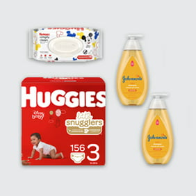 Stock up on baby essentials
