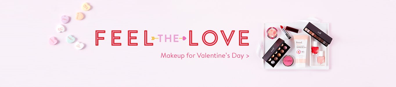 Feel the love. Makeup for Valentin's Day .