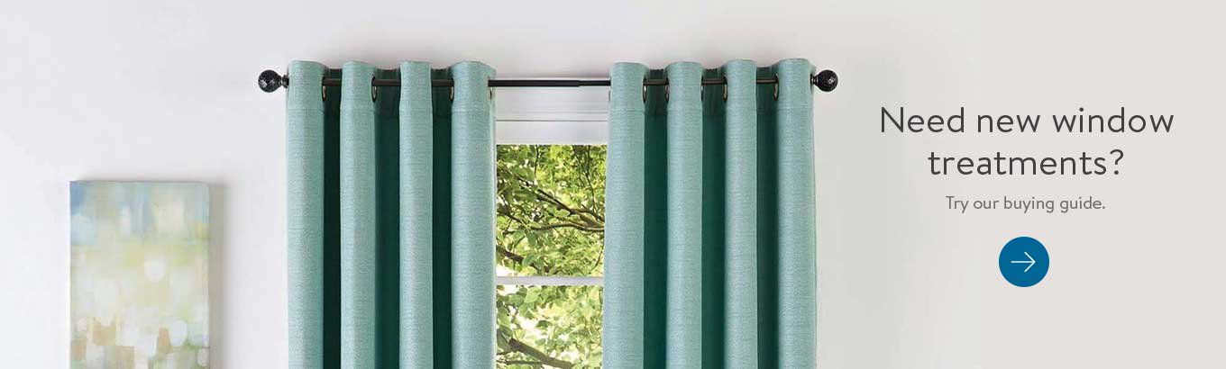 Curtains & Window Treatments - Walmart com