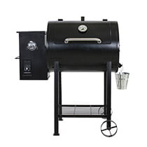 Pellet Grill with Flame Broiler