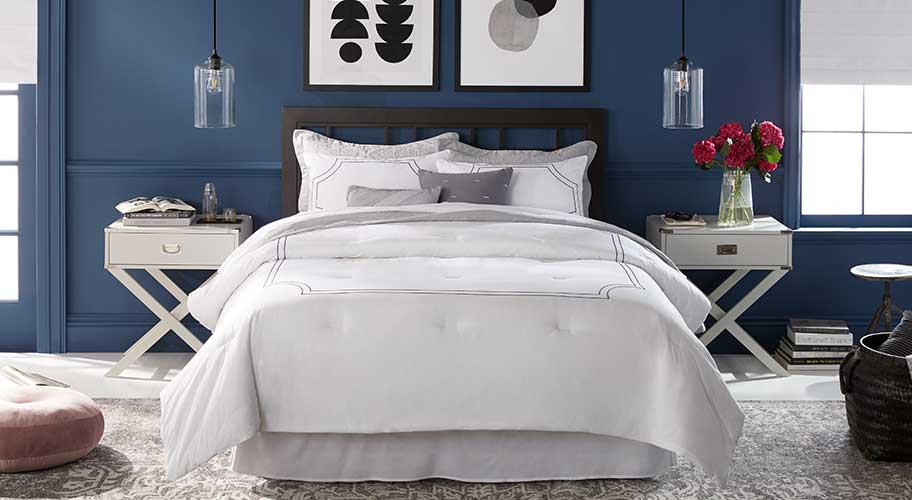 Crisp Details Give Your Bed The Look Of Favorite Hotel