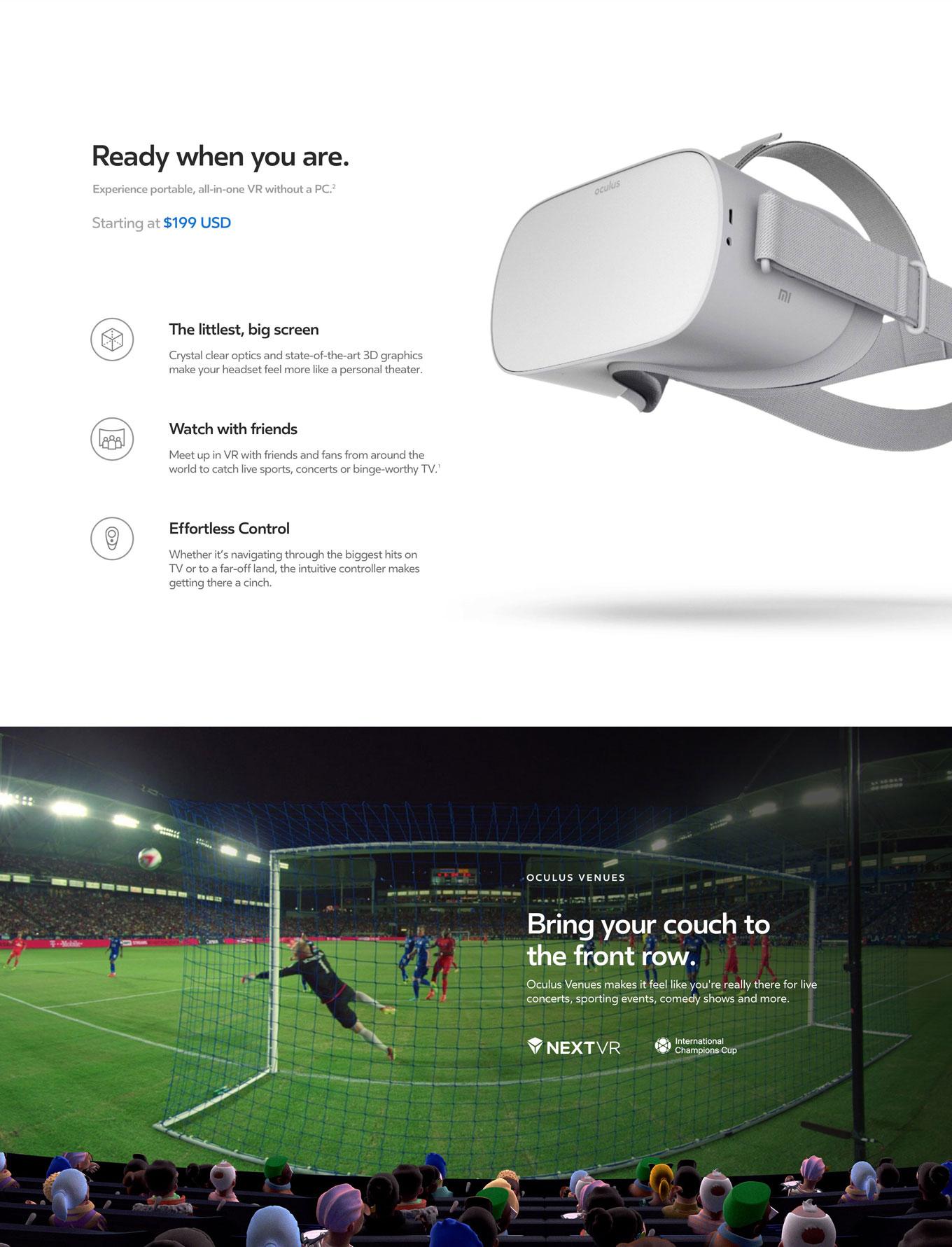 Oculus GO VR - Walmart com