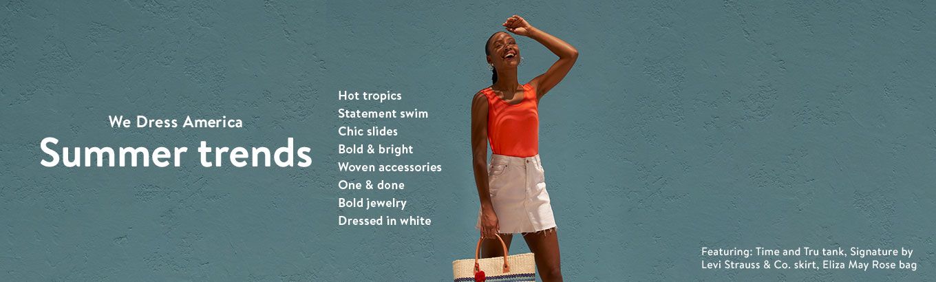 Shop women's summer trends