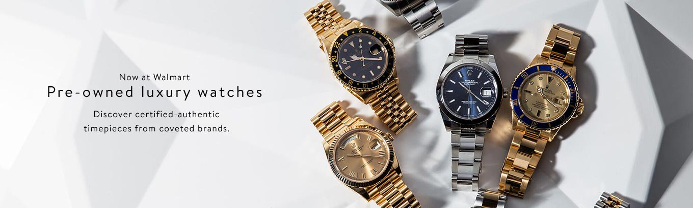 Pre-owned luxury watches. Shop now.