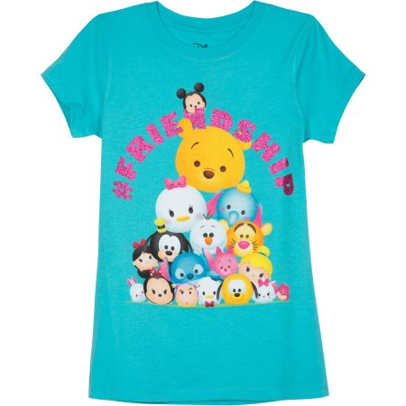 Girls' Graphic Tees - Walmart.com