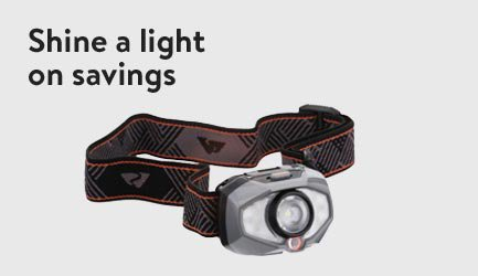 Shine A Light On Savings