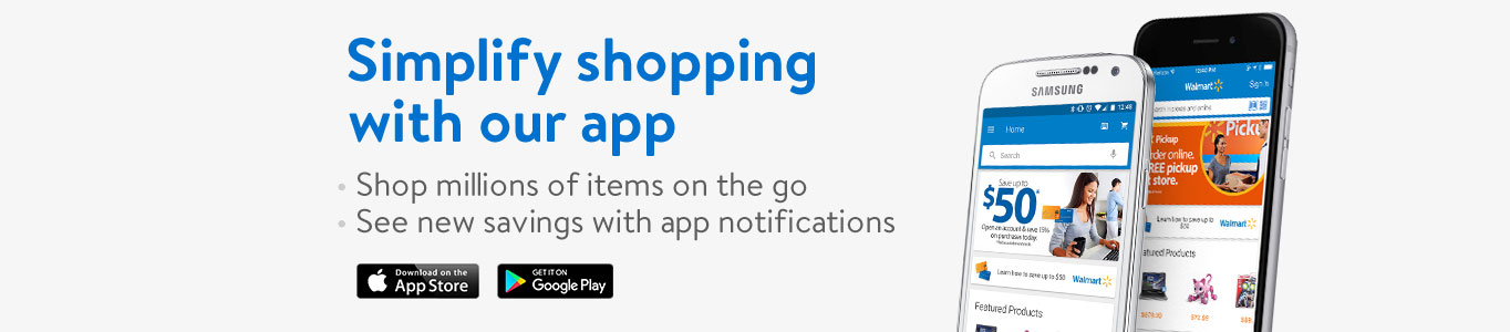 Simplify shopping with our app