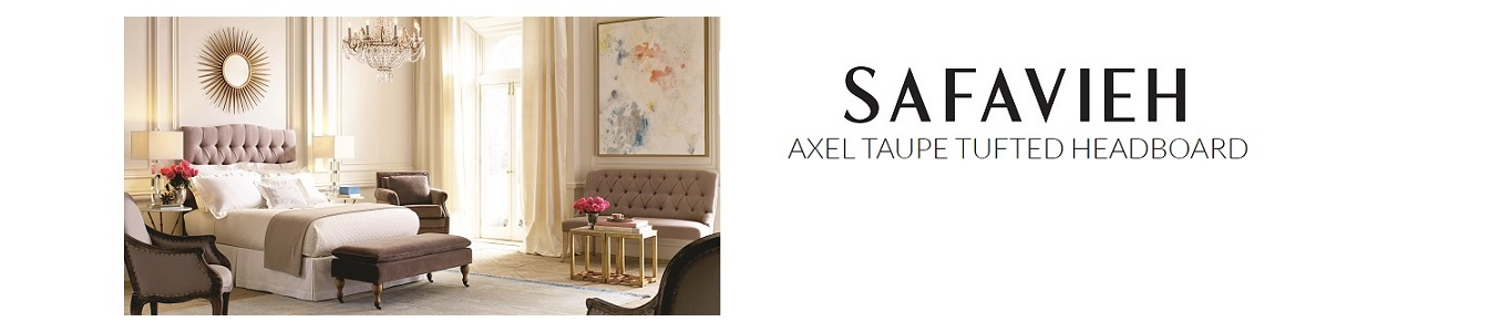 Safavieh Axel Tufted Headboard