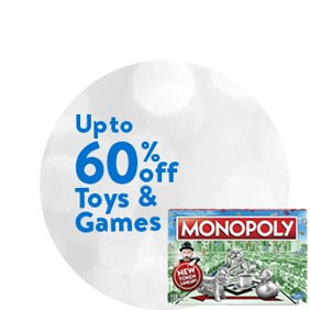 Up to 60% off Toys & Games: Shop Toy & Game Deals.