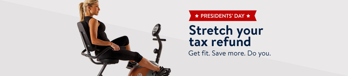 Stretch your tax refund! Get fit. Save more. Do you.
