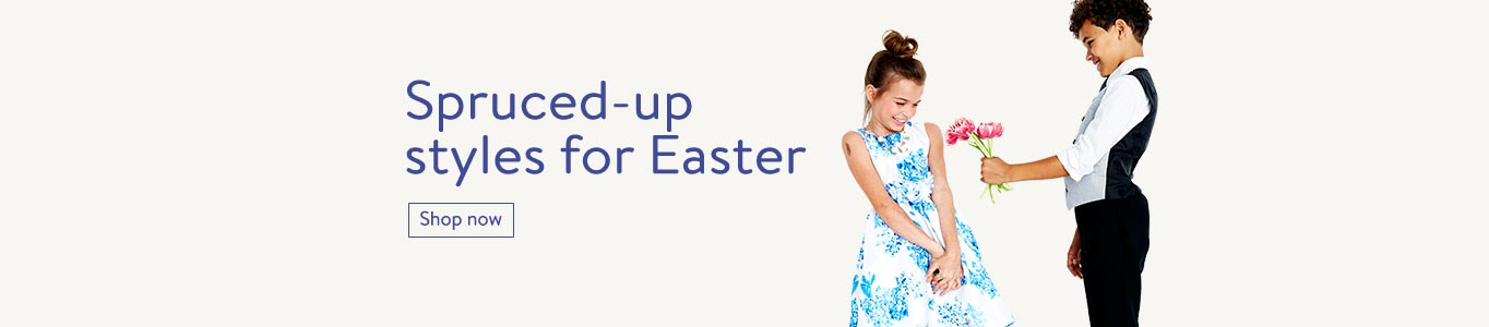 Spruced-up styles for Easter