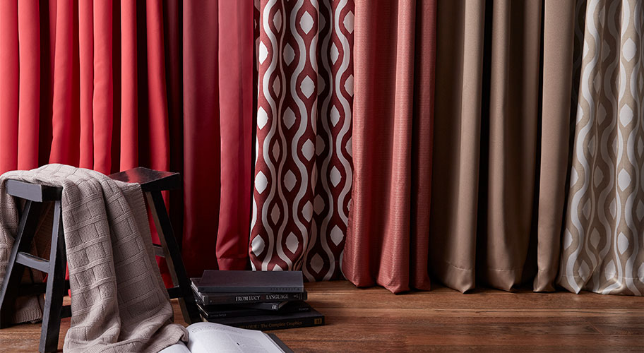 A new view. Give any room a dramatic refresh this fall with new window treatments.