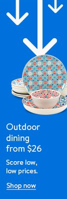 Outdoor dining from $26. Score low, low prices.