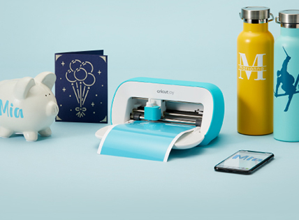 Small machine, so much joy. Make a little happiness in minutes with this new smart cutting and writing machine. Shop now.