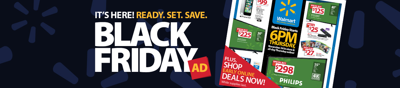 It's Here! Black Friday Ad.