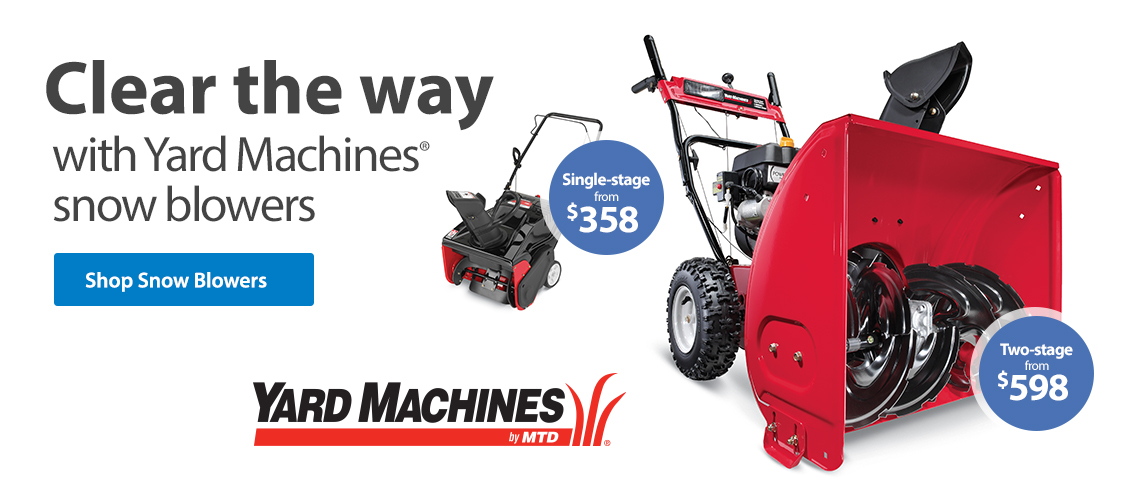 Best Rated Snow Blower Brands : Outdoor power equipment walmart