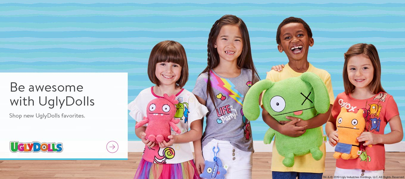 Be awesome with UglyDolls