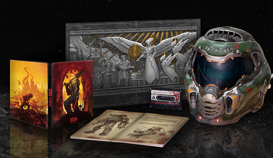 Doom Eternal Reveals A Devilishly Cool Collector S Edition With
