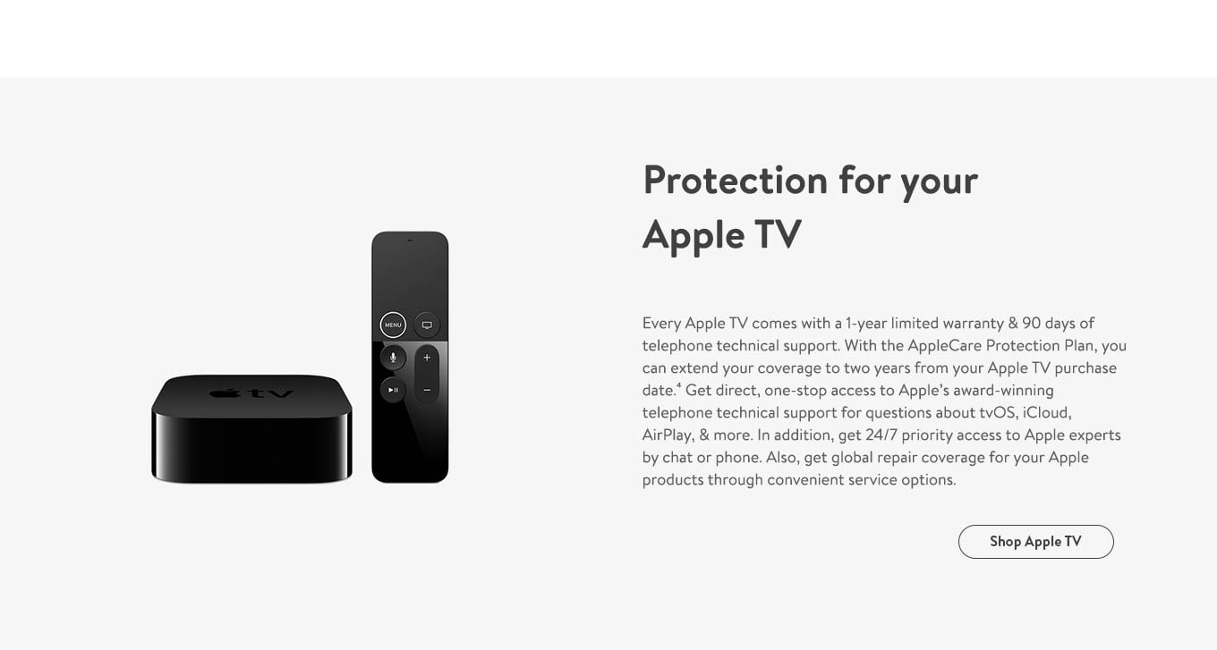 Protection for your Apple TV