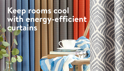 Keep Rooms Cool With Energy Efficient Curtains