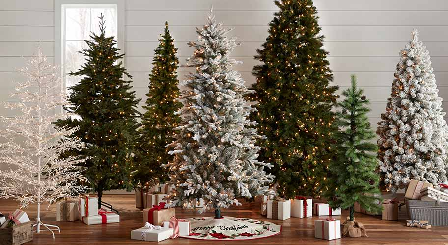 O Christmas tree. There's something about putting up the tree that makes the holidays feel magical. Check out our huge assortment to get inspired, then shop faux firs, pines, and more, in sizes from tabletop to tall.