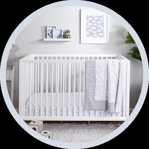 Crib Bedding Sets Com, Plain White Baby Bedding