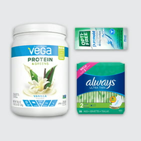 Stock up on health & wellness