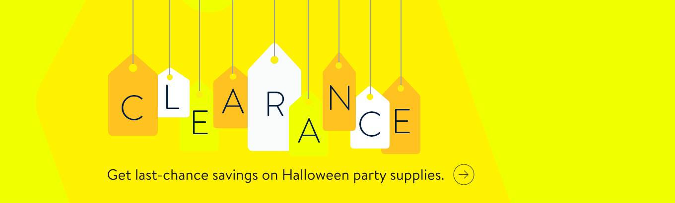Clearance Halloween Party Supplies