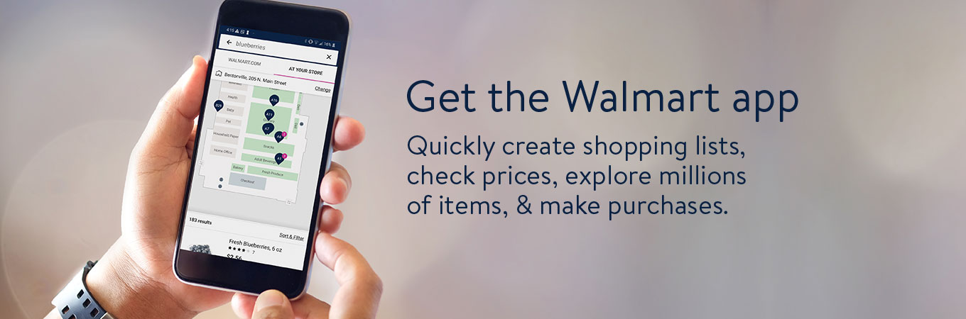 More ways to Walmart Shop smarter and save time with the Walmart app