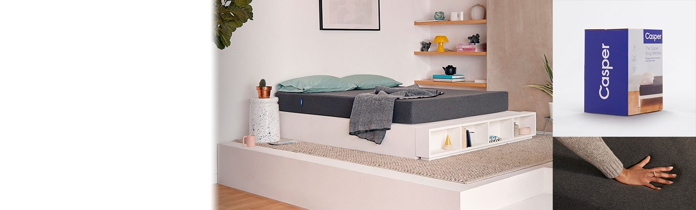 Online only. Meet the Casper Snug Mattress and have a good night's sleep at a better price. Twins start at $295.