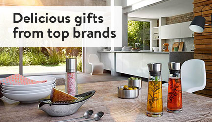 Delicious gifts from top brands