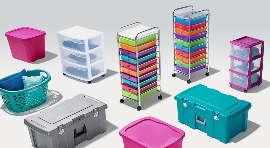 Tidy Meets Trendy. Obsessed with keeping your dorm organized? We have all kinds of storage solutions to keep everything in order.