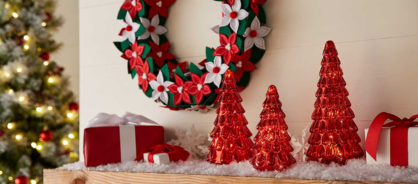 decor from belham living holiday time - Cheap Christmas Tree Decorations
