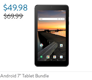 """Android 7"""" Tablet Bundle"""