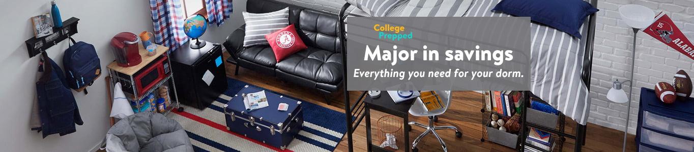 College Dorm Room EssentialsWalmartcom