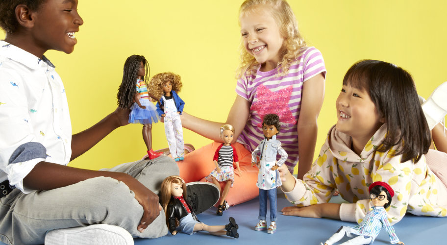 Creatable World. The first-ever all inclusive doll line.