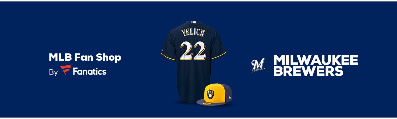 8b9ebe75a36 Milwaukee Brewers Team Shop - Walmart.com