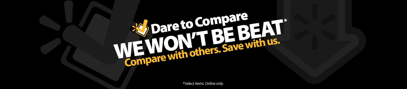 Dare To Compare: We cannot be beat. Compare with others. Save with us.