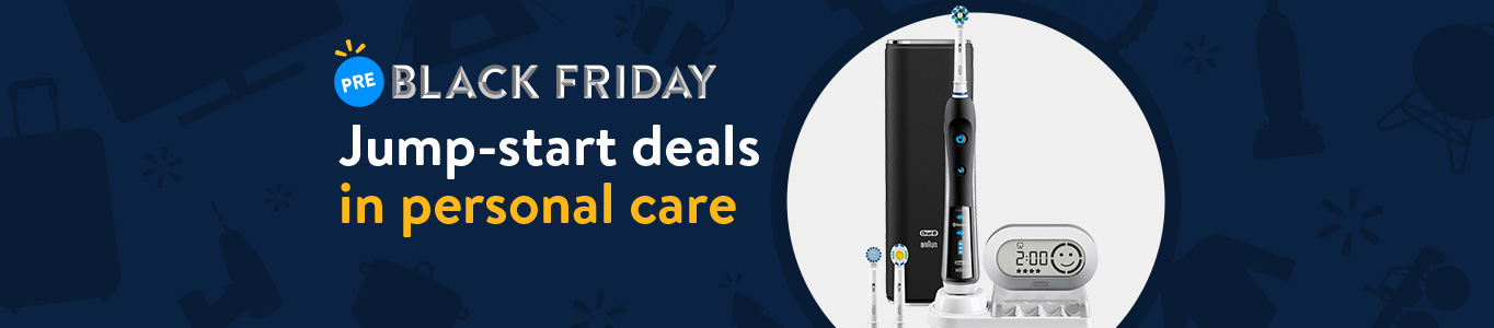 Shop Pre-Black Friday deals in personal care!