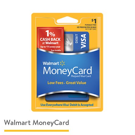 Reloadable Debit Cards - Walmart com